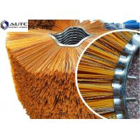 China PP /  Steel Filament Rotating Snow Brush / Industrial Snow Brush CE Certification on sale