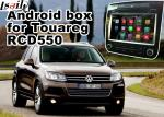 Android GPS Navigation Box Video Interface For Touareg RCD550 Offline Navigation Waze Youtube Mirror Link