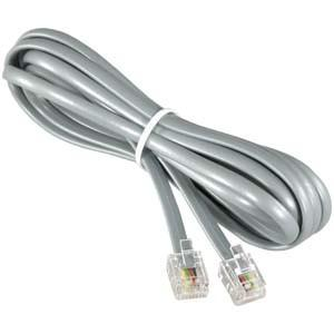lszh jacket rj11 telephone cable with 2 / 4 / 6 pairs , rj11 phone cord