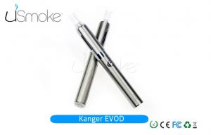 China Stainless Steel EGO-W Pen E Cigarette Kanger Evod Clearomizer Tank 2.4ml 1.8ohm on sale