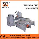 Router de madera redondo AW-1325ATCR del CNC del ATC