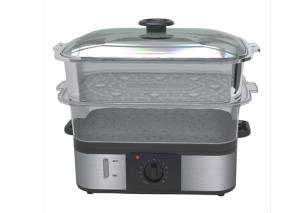 China 2 tier Electric Stainless steel Rice Steam Cooker XJ-10107 on sale