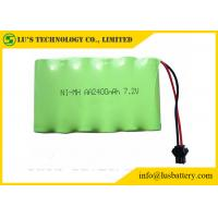 2400mah 7.2V Nickel Metal Hydride Battery AA NIMH Battery Pack Long Service Life