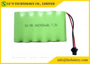 China 2400mah 7.2V Nickel Metal Hydride Battery AA NIMH Battery Pack Long Service Life on sale