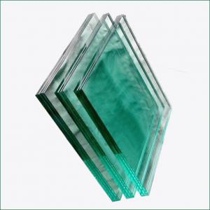 China Clear and colored PVB SGP safety Laminated Glass for railings balcony facade on sale
