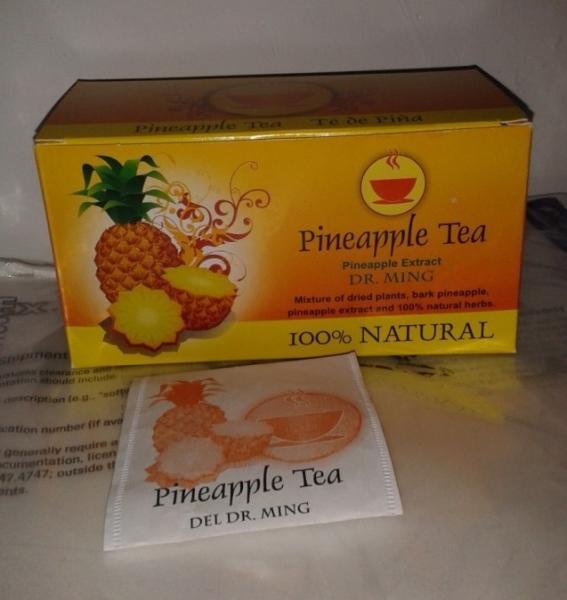 Dieta del té verde del té de la piña de Te de Pina que