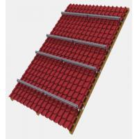60m/S Solar Panel Roof Mounting Systems Aluminum PV Solar Panel Tile Ceramic Shopping Mall
