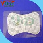 L'électrode à pâte de carbone masculine convenable de prise élastique réutilisable de mousse capitonne le CE FDA ISO13485