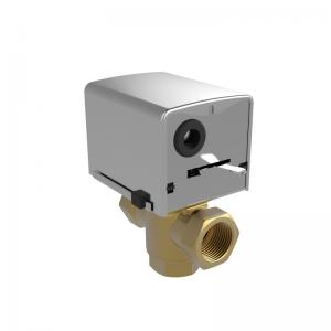 China 1.6MPa Low Pressure Fan Coil Unit Motorized Zone Valve With Brass Valve Body on sale