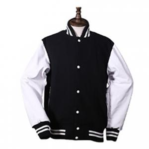 China Long Sleeve Custom Unisex College Baseball Varsity Jacket Breathable Sport Coat on sale