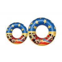 Safety Plastic Inflatable Swimming Ring Logo Printing Swimming Pool Toys