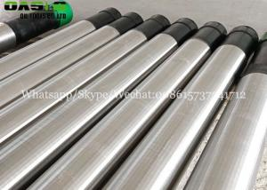 China Top product double layered better filtration slot filter pipe based well screen with steel 316 grade on sale