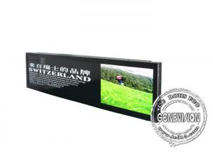 China 28.8 Inch Ultra Wide Stretched Displays 4G Remote Managing 500cd / M2 Brightness on sale