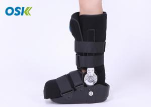 China Physiotherapy Aircast Walking Boot , Orthopedic Walking Boot For Sprained Ankle on sale