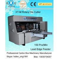 China Machine de découpage rotatoire de haute précision, machines d'emballage 1200×1800mm de carton on sale