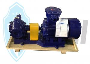 China Marine Lube Oil Gear Pump , Electric Oil Transfer Pump With Ex Motor Iron on sale