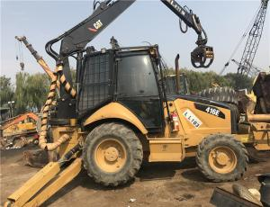 China Used Loader backhoe for sale/used caterpillar 416E/420F/422F/428F backhoe loader with hammer for sale on sale