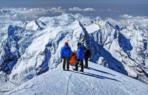 China 6476m Altitude Nepal Climbing Tours 19 Day'S Mera Peak Climbing / Expedition on sale
