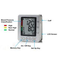 ABS Wrist Digital Blood Pressure monitors Full Automatic pulse tester