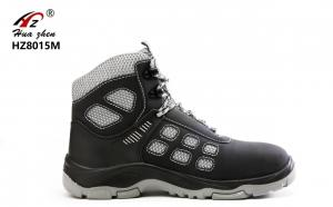 China Sport Design Lightweight Steel Toe Shoes , PU / Rubber Steel Safety Shoes on sale