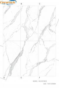 China Polished Porcelain Marble Tile For Studing Room / Bedroom Easy To Clean on sale