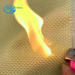 Tela balística de la fibra del aramid de Kevlar de la prueba de la bala, tela a prueba de balas del aramid del twaron de Kevlar de la fibra del aramid