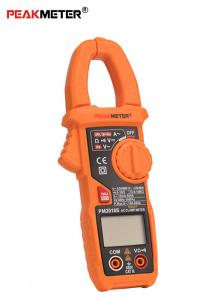 China Auto Range Electrical Clamp Meter Multimeter With ACA Peak And Frequency Measurement on sale
