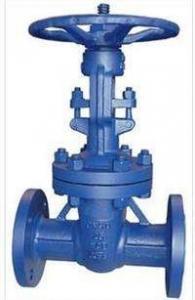 China DIN Standard Cast Steel Gate Valve PN10 / 16 / 40 / 64 Pressure Handwheel Operation on sale
