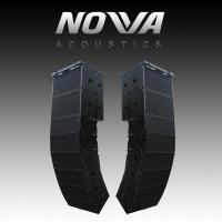 "Dual 10"" 16Ohm Audio Music Sound System Line Array For Touring / Living Show"