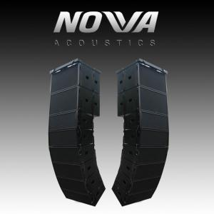 China Dual 10 16Ohm Audio Music Sound System Line Array For Touring / Living Show on sale