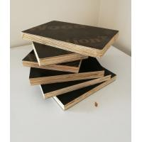 China 1220*2440  1250*2500 Film Faced Hardwood Poplar Concrete Formwork Plywood on sale