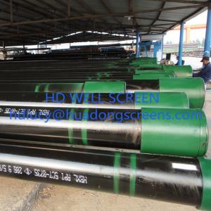 China HUADONG API 5CT K55/J55 oil casing pipe/deep well pipe(China manufacture) on sale