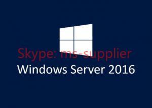 Quality 64 Bit Full Version Windows Server 2016 OEM DVD COA Sticker Server Operating for sale