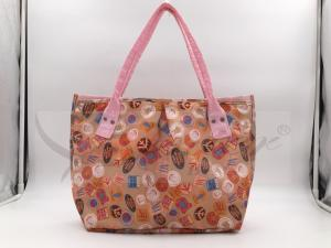 China Printing Ripstop Polyester Handbags For Women AZO Free / Low Cadmium on sale