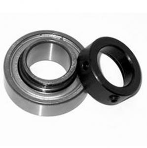 China Chrome steel CSA203 pillow block bearing & insert bearing with Locking Collar on sale