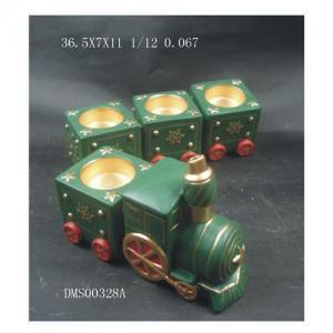China Terracotta Train Canldeholder on sale