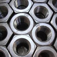 1/4 to 4-inch Nickel Plated Surface Carbon Steel Nuts, OEM / ODM Stud Bolts And Nuts
