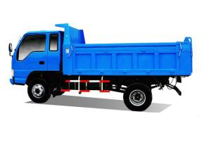Quality Jac Dump Truck 7 Ton Loading 110hp 80km Hour