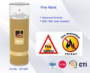 China Heat Resistance Acrylic Spray Paint High Temperature Paint Spray on sale