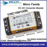 Vicor 100W 15V DC-DC Converters V28C15M100BL