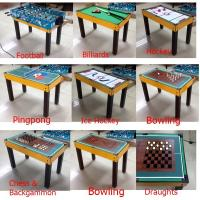 New Style Multi Game Table Soft Handle Football Game Table With Colorful Player