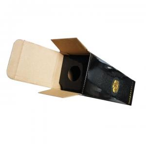 China custom wholesale E- flute corrugated cardboard paper wine box for sale supplier on sale