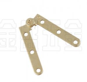 China Brass Plated Metal Door Frame Hinge Replacement Lightweight Long Using Life on sale