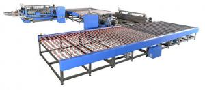 China U type Glass Processing Machinery Double Edger and Polisher Line Low noise on sale