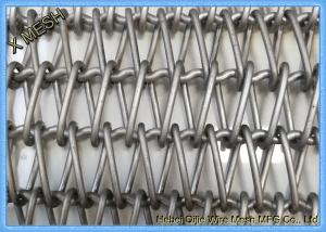 China Inconel 601 Metal Wire Mesh Spiral Conveyor Belt For Semiconductor Transportation on sale
