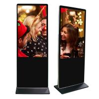 China 49inch Multi Touch Floor Standing LCD Digital Display Interactive Digital Totem Kiosk on sale