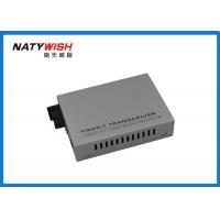 High Reliability Fiber Optic Media Converter Singlemode WDM 40km For FTTH