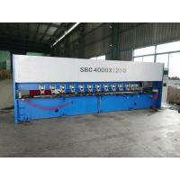 Steel Panel Groove 6M Long CNC Groover Machine Hydraulic Clamping Shuttle Slotting