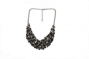 China Costume Jewelry Necklaces Europe Fashion Design Jewelry Women Rhinestone Bridal Necklaces BF210 on sale