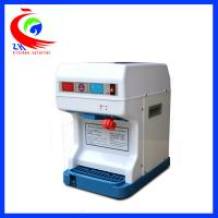 Electric ice crusher Snow  commercial shaved ice machine Microcomputer control
